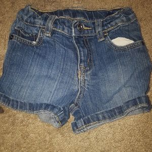 The Children's Place Baby Girls Jeans shorts 24M
